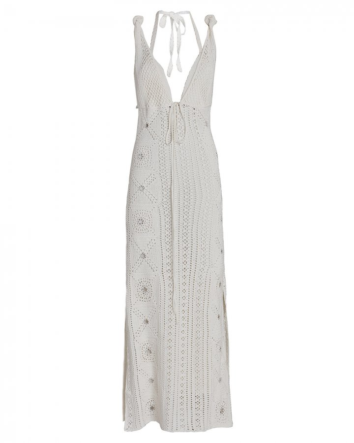Remi Crochet Cotton Midi Dress