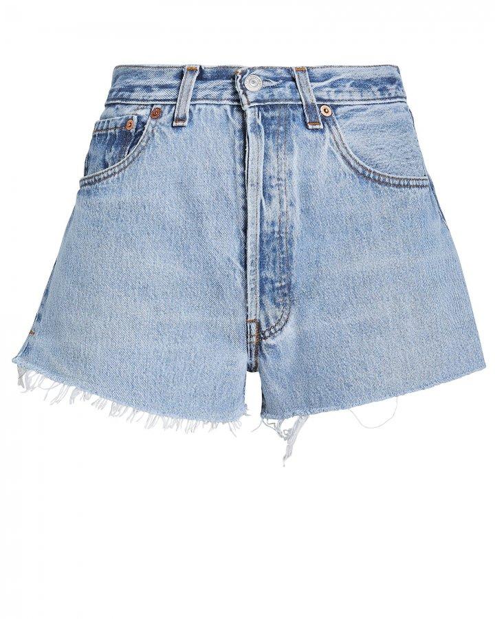 The Cut-Off Denim Shorts