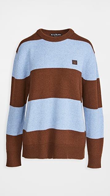 Nimah Block Stripe Knitwear