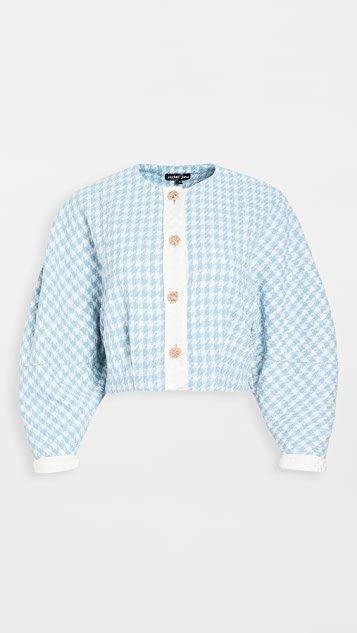 Blue Willow Tweed Jacket