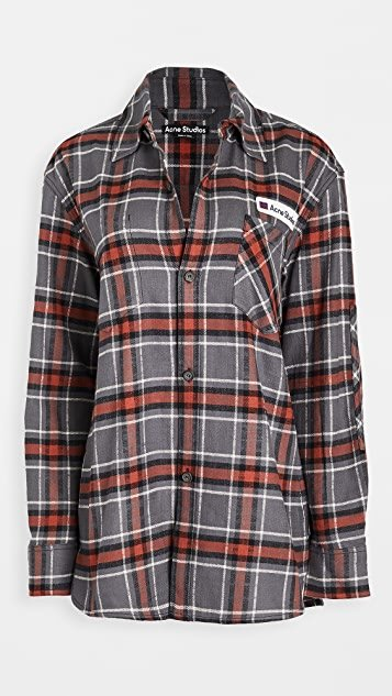 Salak Flannel PC Face Shirts