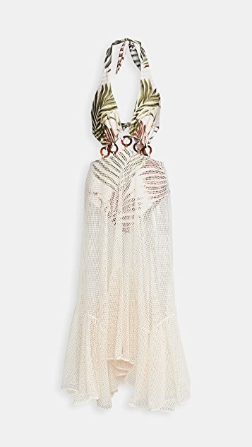 Palmeira Netted Beach Dress