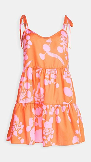 Orange Crush x Cynthia Rowley Chemise