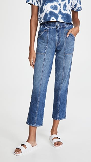 The Spring Ankle Jeans