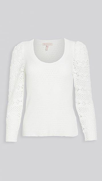 Crimp Cotton Pullover