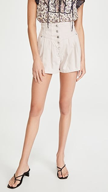 Paris Pleated Shorts