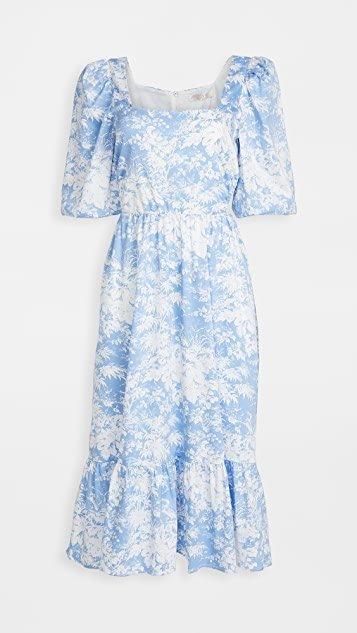 Mockingbird Cutout Midi Dress