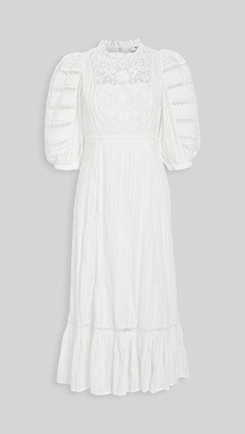 Ona Short Sleeve Midi Dress