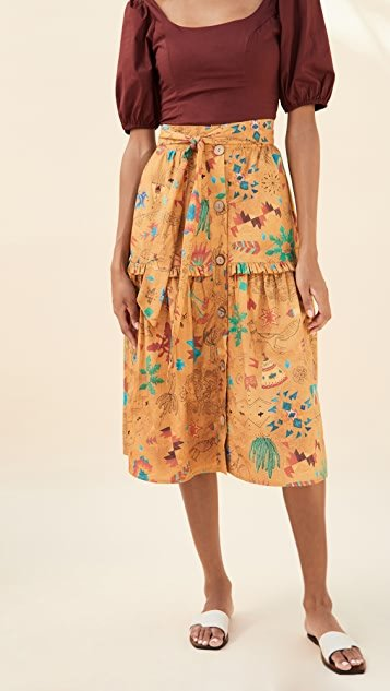 Saqui Midi Skirt