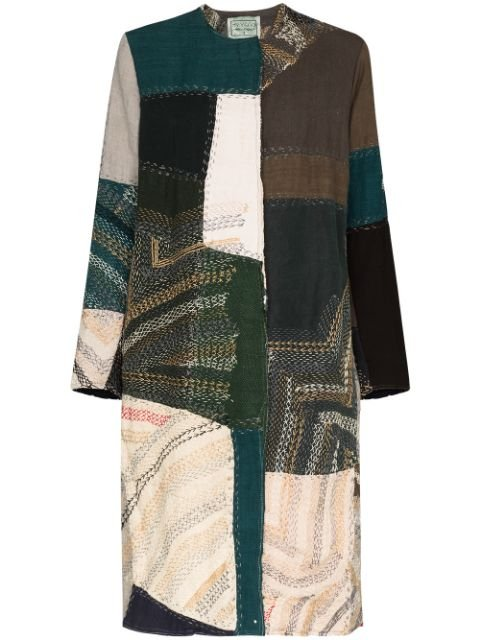 By Walid Tanita Printed Coat
