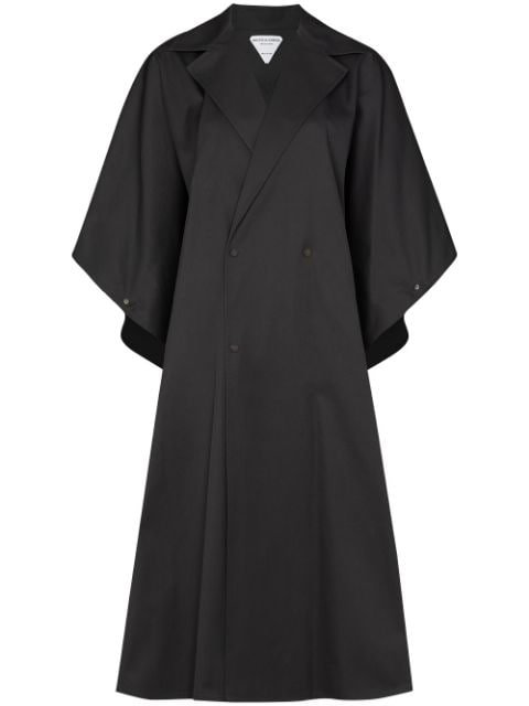 Bottega Veneta double-breasted Cape Coat
