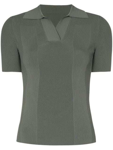 Jacquemus Cutout Polo Top