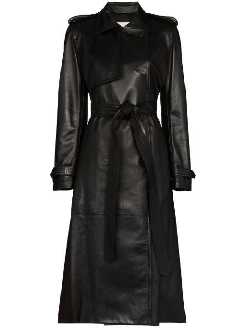 Alexander McQueen Belted Trench Coat