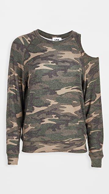 Brushed Camo Flynn Sweatshirt
