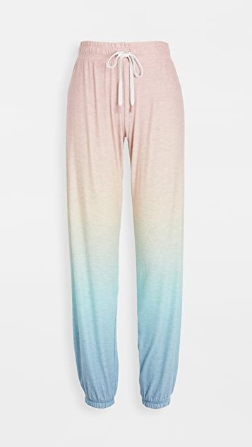 Beach Bound Ombre PJ Pants