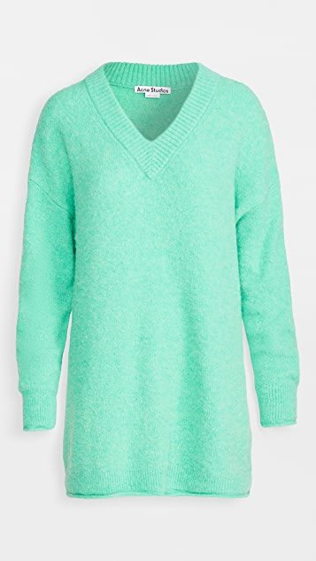 Keandra Fluffy Alpaca Sweater