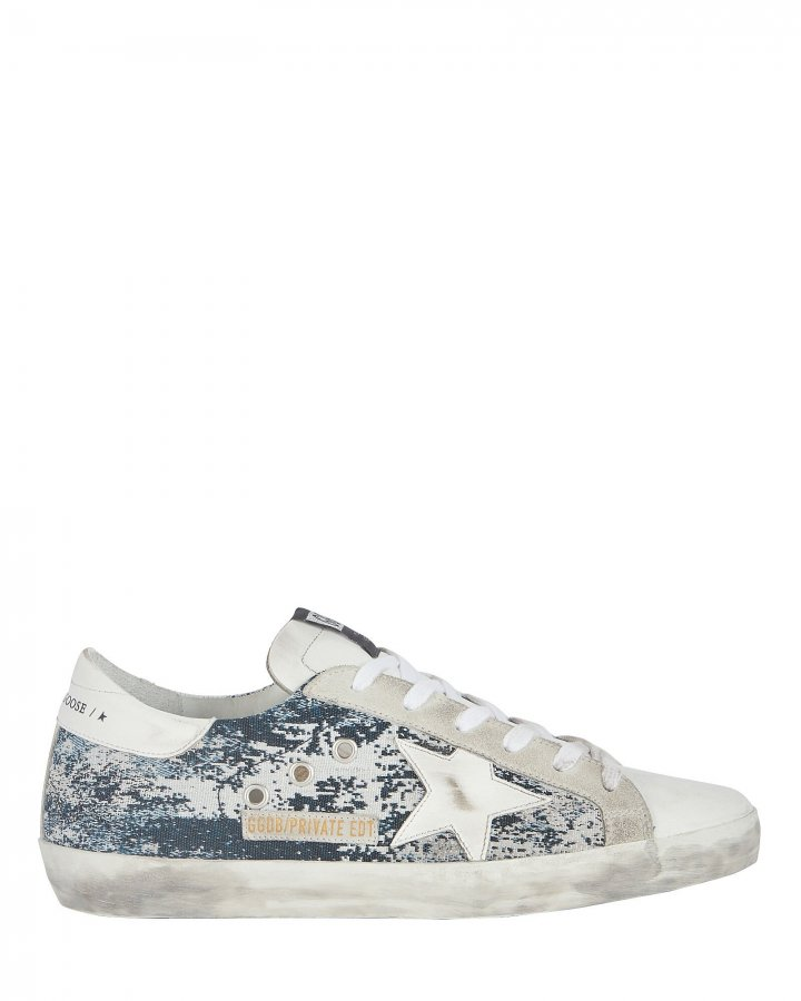 Superstar Low-Top Jacquard Sneakers