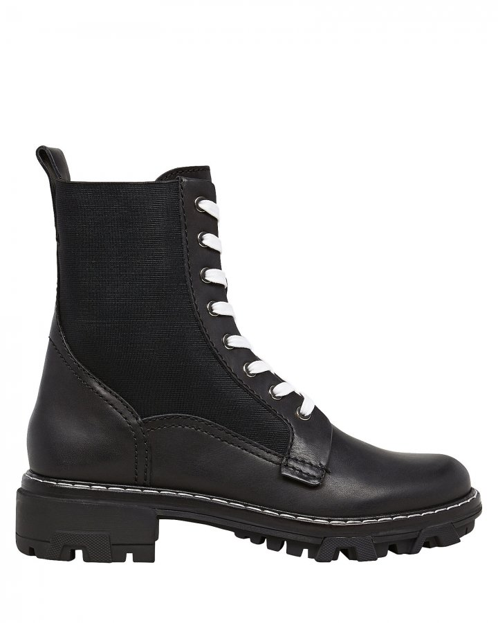 Shiloh Leather Combat Boots
