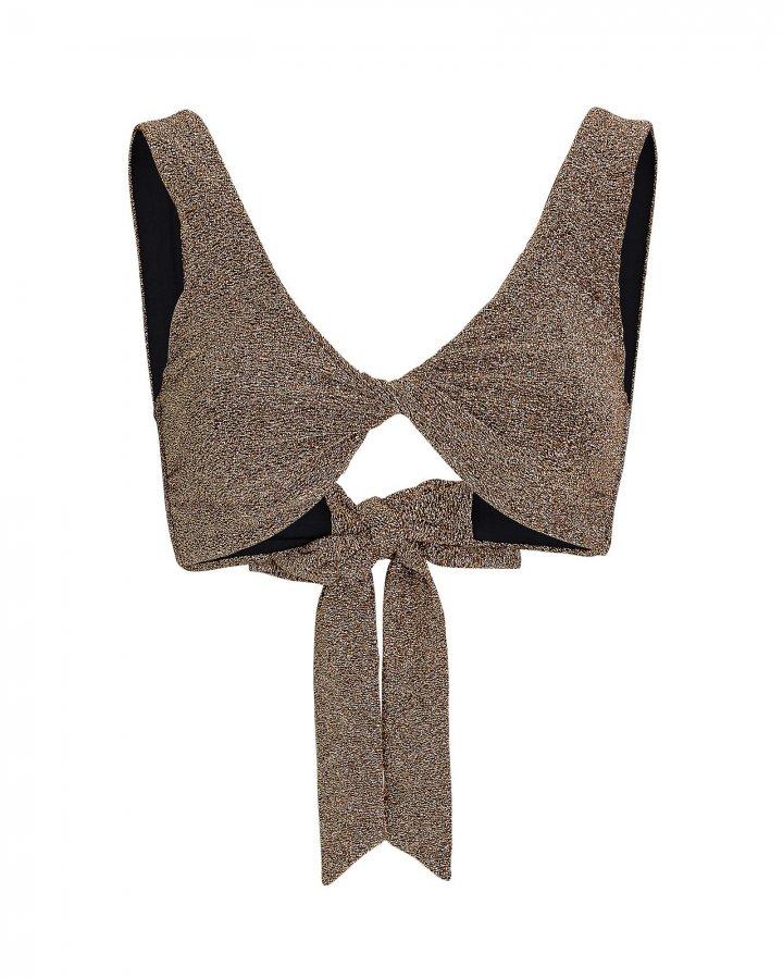 Scarlett Lurex Bikini Top