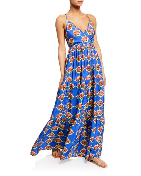 Beach Babe Tiered Maxi Dress