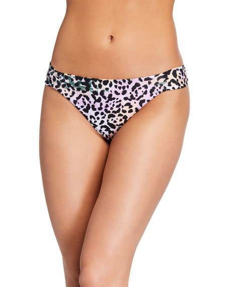 Donna Animal-Print Bikini Bottom