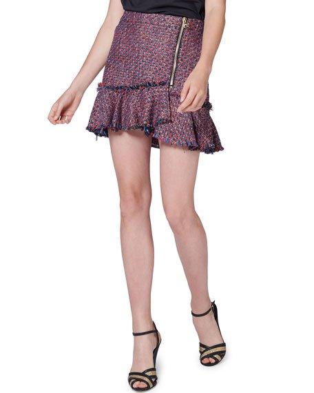 Madra Boucle Mini Skirt