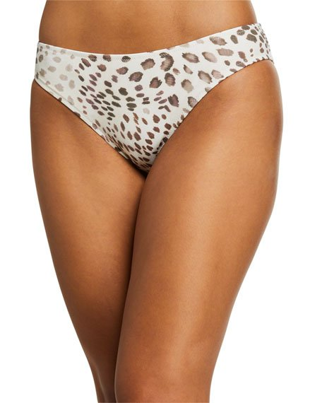 Oksana Animal-Print Hipster Bikini Swim Bottom