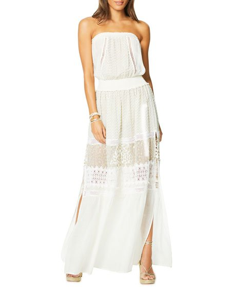 Embellished Isadora Strapless Dress