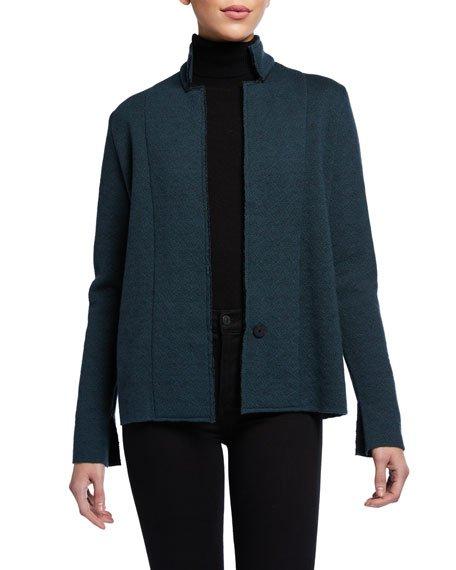M Ferebee Wool Jacquard Jacket
