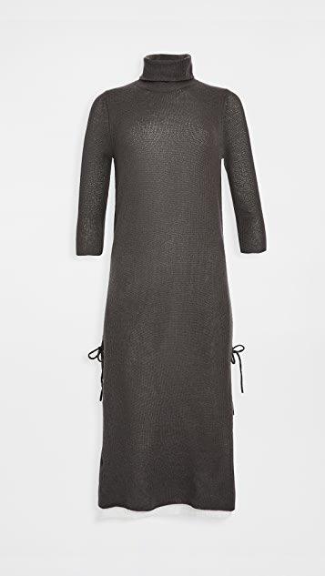 Layered Cashmere Dress