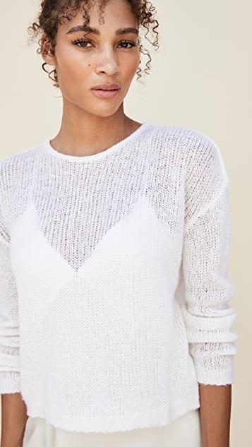 Loose Stitch Wool Cashmere Sweater