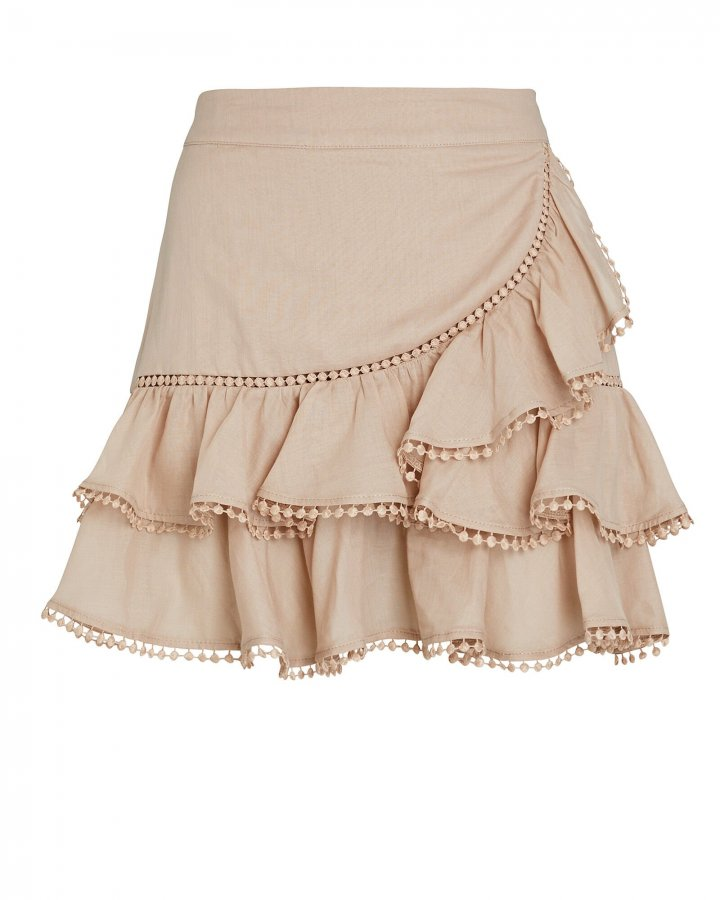 Fera Ruffled Mini Skirt