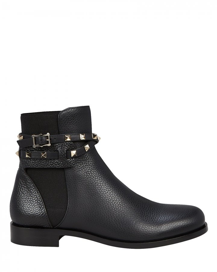 Rockstud Chelsea Boots