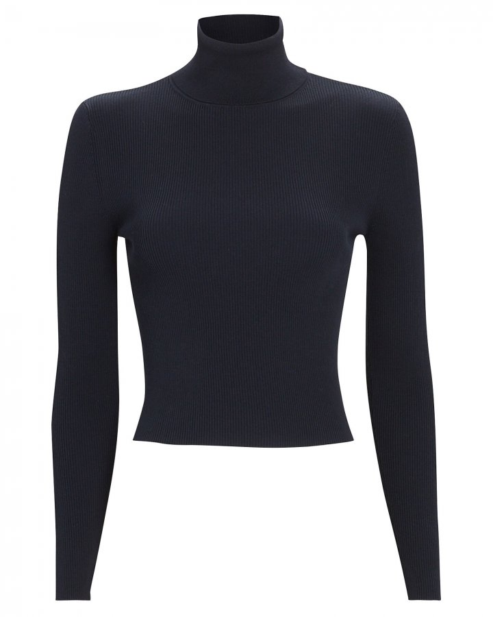 Eberly Rib Knit Turtleneck Top