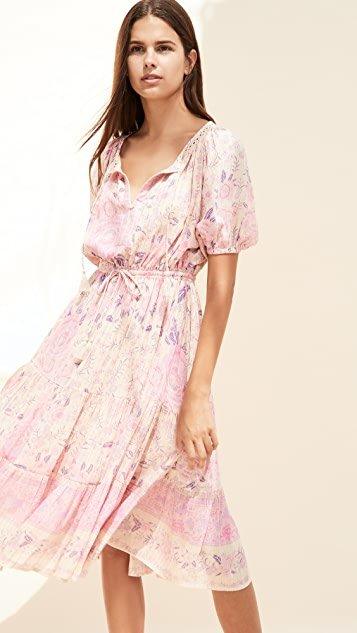 Mystic Midi Dress