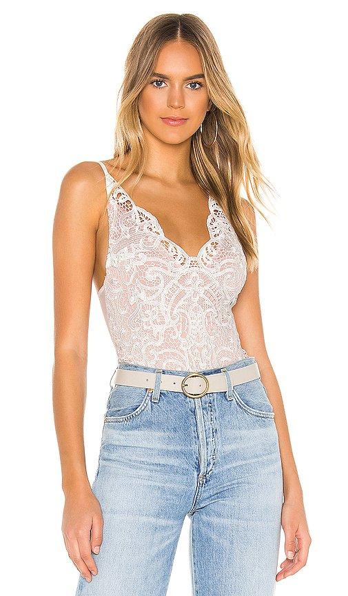 Marion Crochet Lace Bodysuit