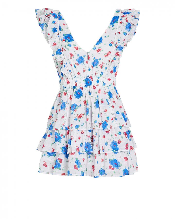 Bennett Tiered Floral Mini Dress
