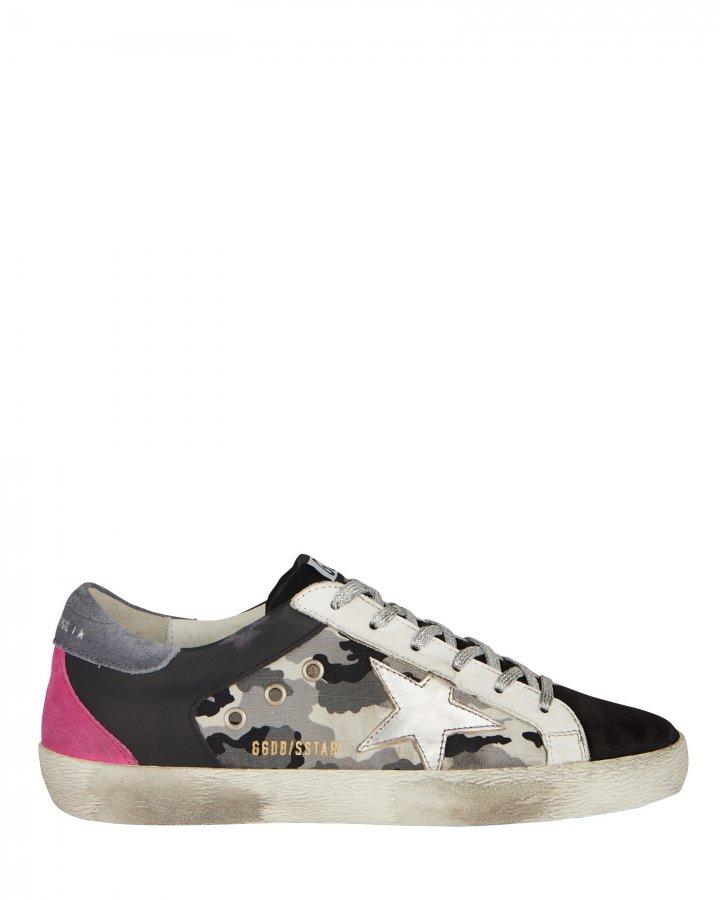 Superstar Camo Low-Top Sneakers