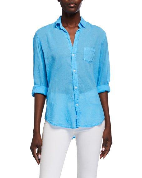 Eileen Long-Sleeve Button-Down Shirt