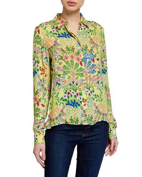 Willa Floral Print Shirt