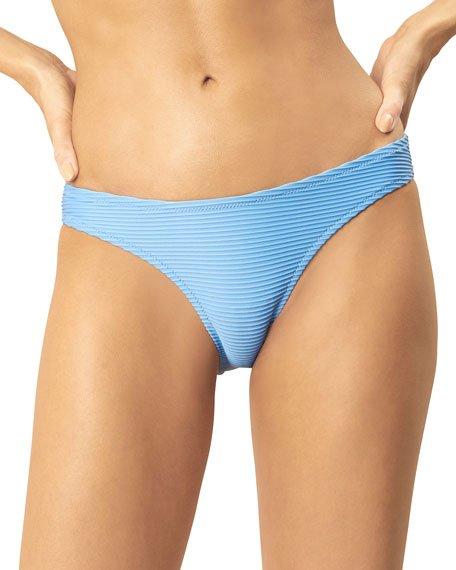 Ribbed Hipster Bikini Bottom