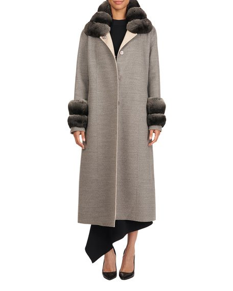 Double Face Loro Piana Cashmere Coat
