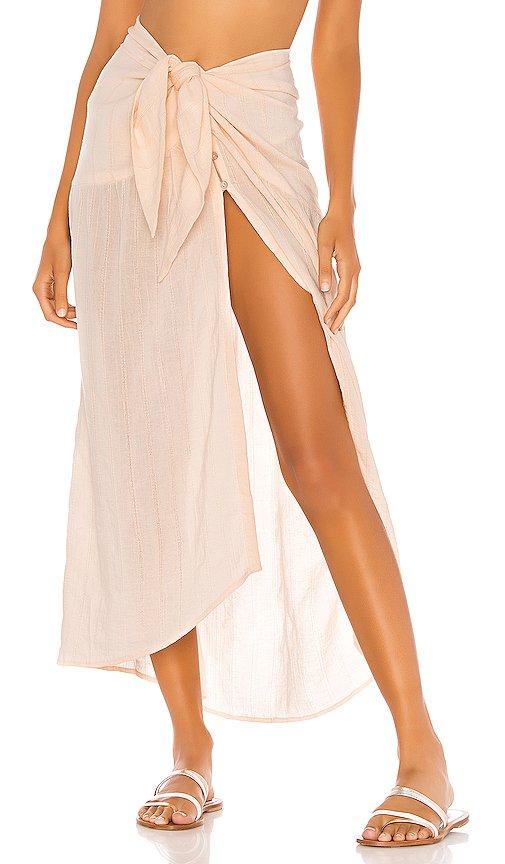 Ruffle Pareo Skirt