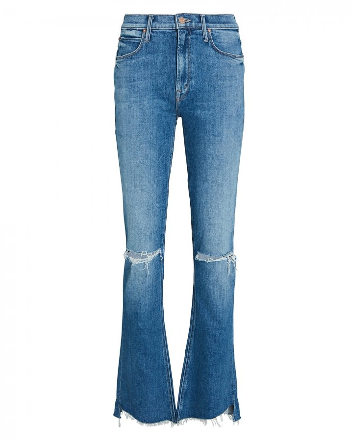 Runway Step Fray Bootcut Jeans