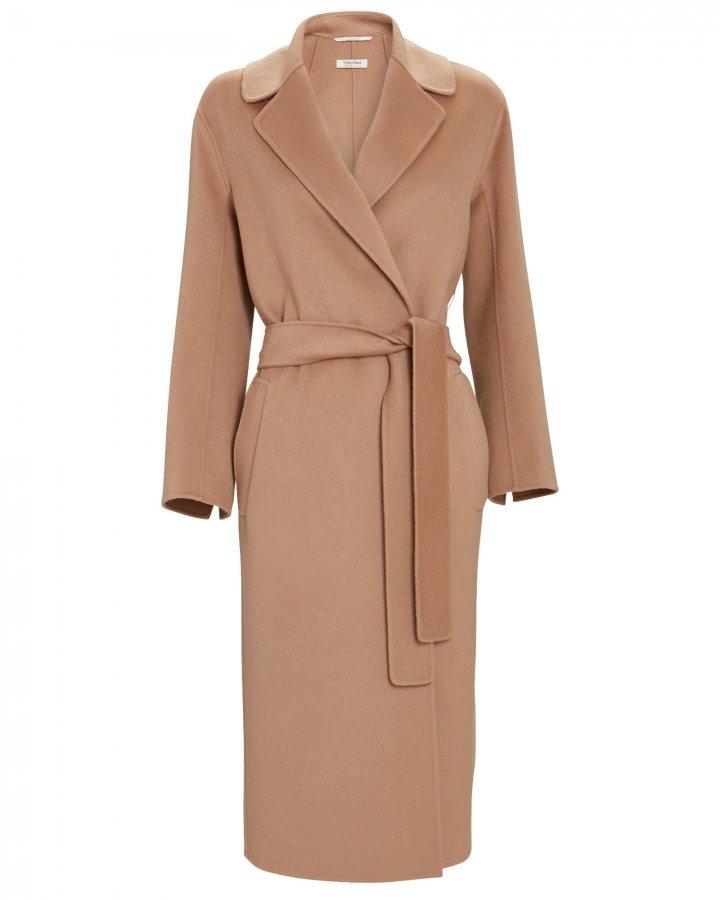 Lugano Belted Wool Wrap Coat