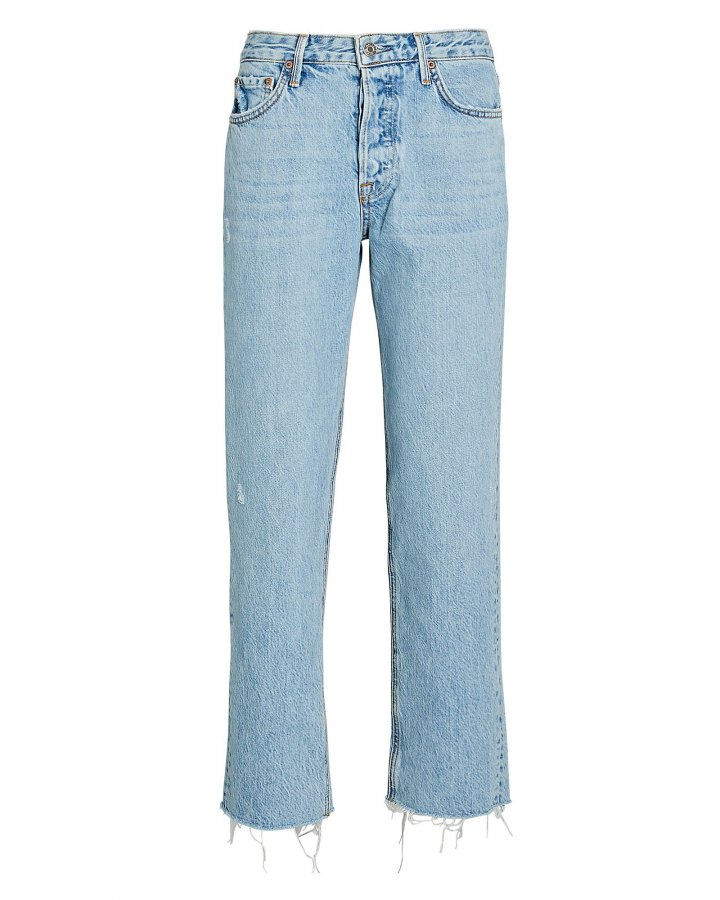 Helena Straight Crop Jeans