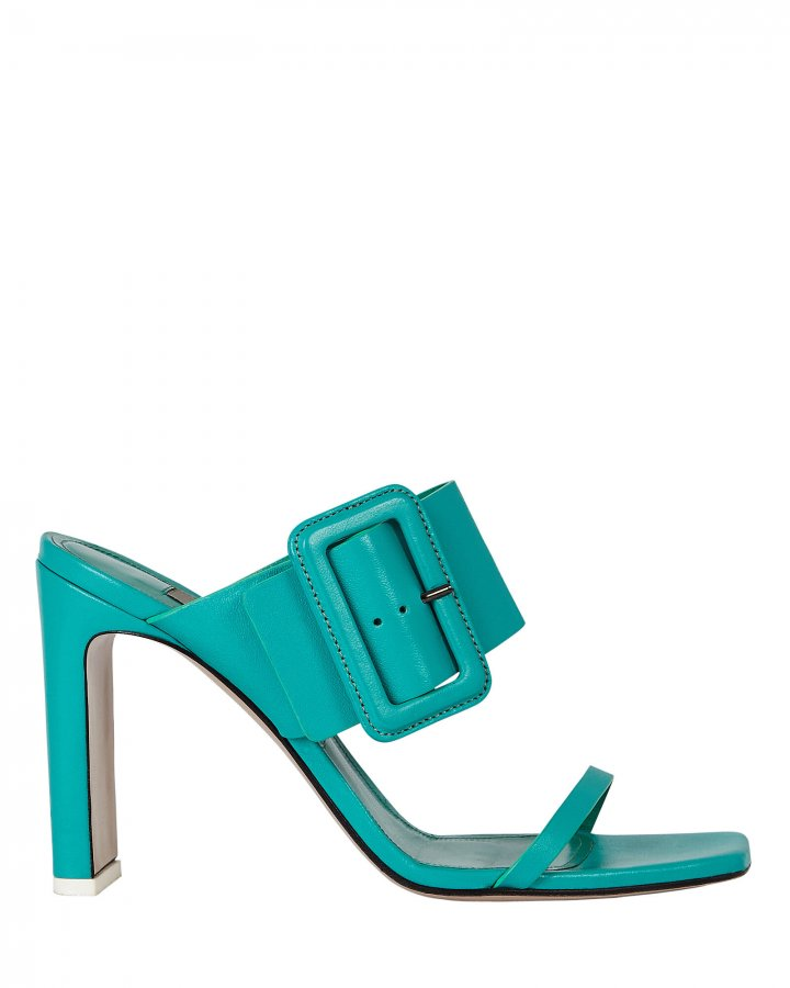 Naomi Leather Buckle Sandals
