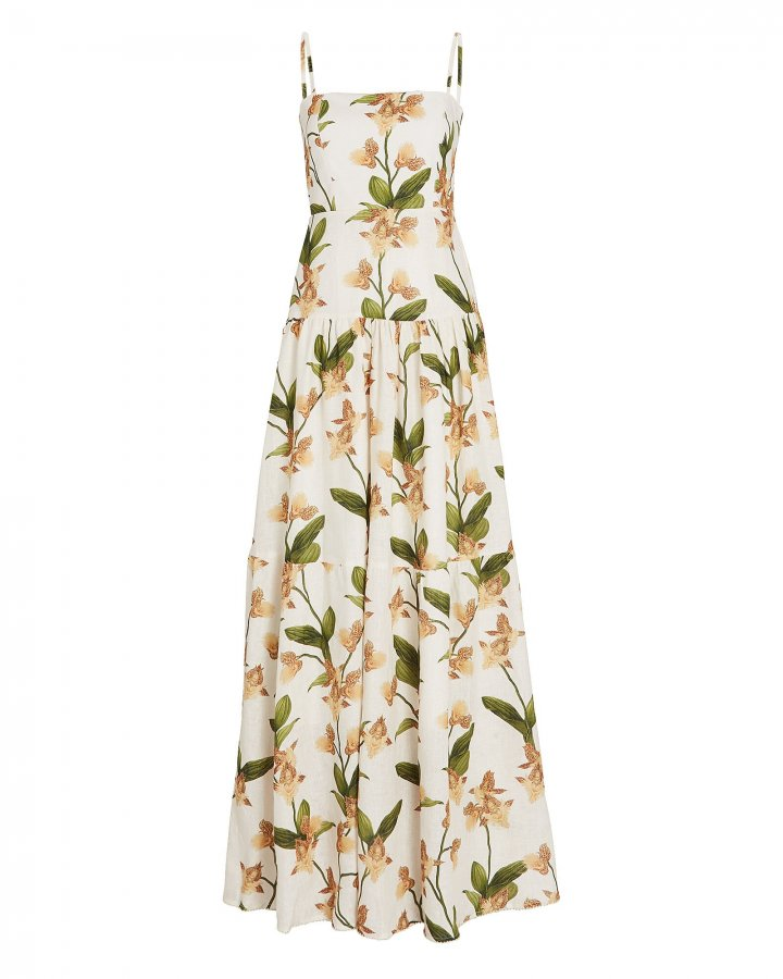 Lima Jardin Floral Maxi Dress
