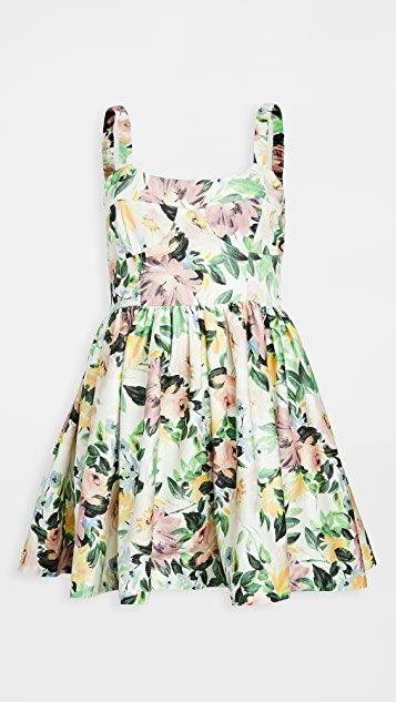 Sage Party Dress