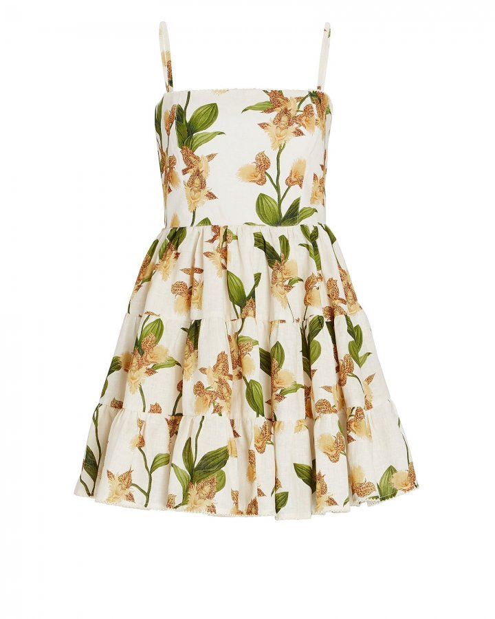 Lima Jardin Floral Mini Dress